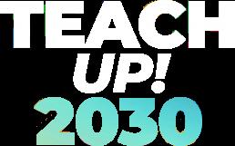 Logo Teach Up! 2030